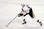 6 February 2010: Pittsburgh Penguins' defenseman Sergei Gonchar in action against the Montreal Canadiens at the Bell Centre in Montreal, Quebec, Canada. The Canadiens defeated the Penguins 5-3. Mandatory Credit: Ed Wolfstein Photo