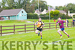 Cormac Roche, Abbeyfeale  gets away from Castleisland for a Try in Castleisland Rfc V Abbeyfeale Rfc at the Con Houlihan Weekend in Crageens Rugby Ground Castleisland on Sunday