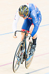 Callum Skinner of the Great Britain team competes against Max Niederlag of the Germany team in the Men's Sprint - 1/8 Finals as part of the Men's Sprint - 1/8 Finals as part of the 2017 UCI Track Cycling World Championships on 14 April 2017, in Hong Kong Velodrome, Hong Kong, China. Photo by Marcio Rodrigo Machado / Power Sport Images