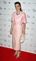 Lara Bohinc attends the WGSN Global Fashion Awards at the Victoria & Albert Museum on October 30, 2013 in London, England