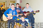 BOYBAND: The Green Boy Band who entertained a large crowd that gathered at The Manor West Retail Park Shopping Centre on Saturday to watch the boys from the green entertain they were, Shane Walsh, James O'Connor, Sean O'Neill and Hugh Stuart.. . ............................... ..........