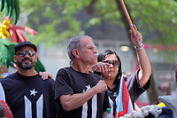 www.acepixs.com<br /> <br /> June 11 2017, New York City<br /> <br /> Oscar L&oacute;pez Rivera was the guest of honor at the Puerto Rican Day Parade on fifth Avenue on June 11 2017 in New York City<br /> <br /> By Line: Curtis Means/ACE Pictures<br /> <br /> <br /> ACE Pictures Inc<br /> Tel: 6467670430<br /> Email: info@acepixs.com<br /> www.acepixs.com