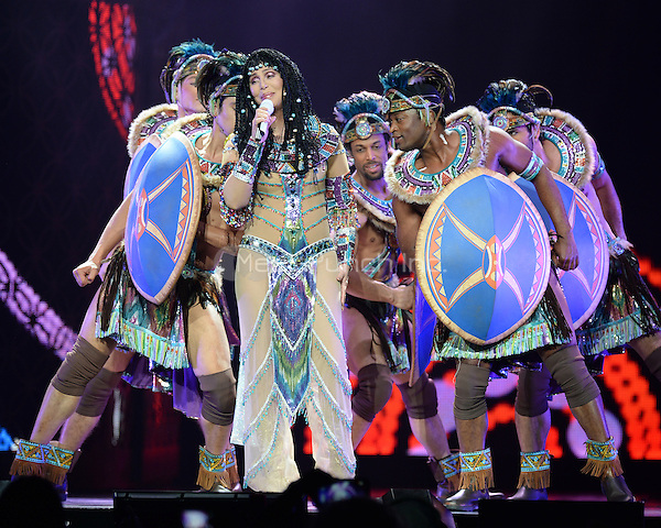 SUNRISE, FL - MAY 17 : Cher performs at the BB&T Center on May 17, 2014 in Sunrise Florida. Credit MPI04/MediaPunch