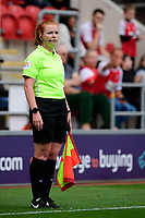 Assistant referee Helen Byrne<br /> <br /> Photographer Chris Vaughan/CameraSport<br /> <br /> The EFL Sky Bet Championship - Rotherham United v Lincoln City - Saturday 10th August 2019 - New York Stadium - Rotherham<br /> <br /> World Copyright © 2019 CameraSport. All rights reserved. 43 Linden Ave. Countesthorpe. Leicester. England. LE8 5PG - Tel: +44 (0) 116 277 4147 - admin@camerasport.com - www.camerasport.com