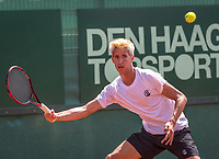 The Hague, Netherlands, 17 July, 2017, Tennis,  The Hague Open, Yannick Mertens (BEL)<br /> Photo: Henk Koster/tennisimages.com