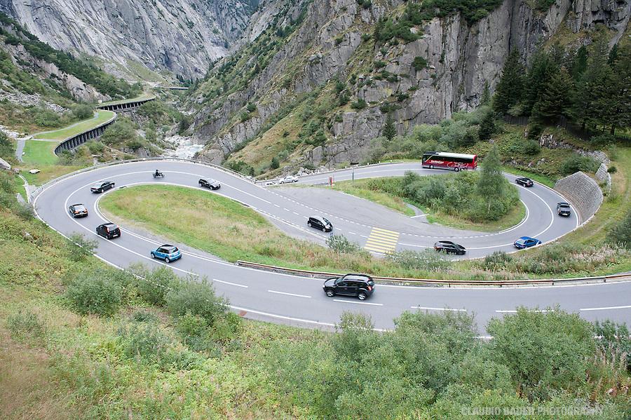 Switzerland, Gotthard Pass, Gottardo, Andermatt, Uri