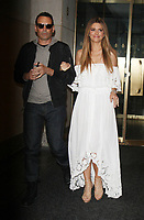 NEW YORK, NY - AUGUST 30: Keven Undergaro and Maria Menounos seen after an appearance on NBC's Today Show to talk about life after brain tumor surgery in New York City on  August 30, 2017. Credit: RW/MediaPunch