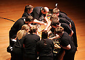 The Bowed Piano Ensemble - Stephen Scott, Director, performs at the Samueli Theater on 2/4/08.