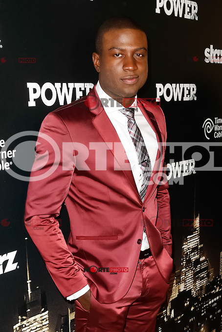 New York, NY -  June 2 : Actor Sinqua Walls attends the Power Premiere held at the Highline Ballroom on June 2, 2014 in New York City. Photo by Brent N. Clarke / Starlitepics
