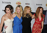 HOLLYWOOD, CA - AUGUST 23: Lizzy Caplan, Kirsten Dunst, Rebel Wilson and Isla Fisher arrive at the Los Angeles premiere of 'Bachelorette' at the Arclight Hollywood on August 23, 2012 in Hollywood, California.
