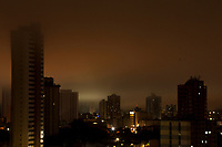 Madrugada de chuvas e neblina na capital do Pará.