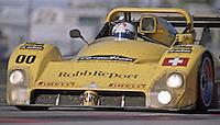 The #00 Ferarri 333SP of Enzo Calderari , Angelo Zadra, Marco Zadra, Carl Rosenblad and Lilian Bryner races to a 64th place finish in the Rolex 24 at Daytona, Daytona International Speedway, Daytona Beach, FL, February 2000.  (Photo by Brian Cleary/www.bcpix.com)nzo Calderari, Angeleo