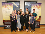 Nancy Opel, Mark Linn-Baker, Laurra Osnes, Tony Yazbeck, Susan Stroman, Jerry O'Connell, Rachel Bloom, Rachel Dratch and Jack McBrayer during the Press Rehearsal for the Manhattan Concert Production of 'Crazy For You'  at Pearl Studios on 2/16/2017 in New York City.