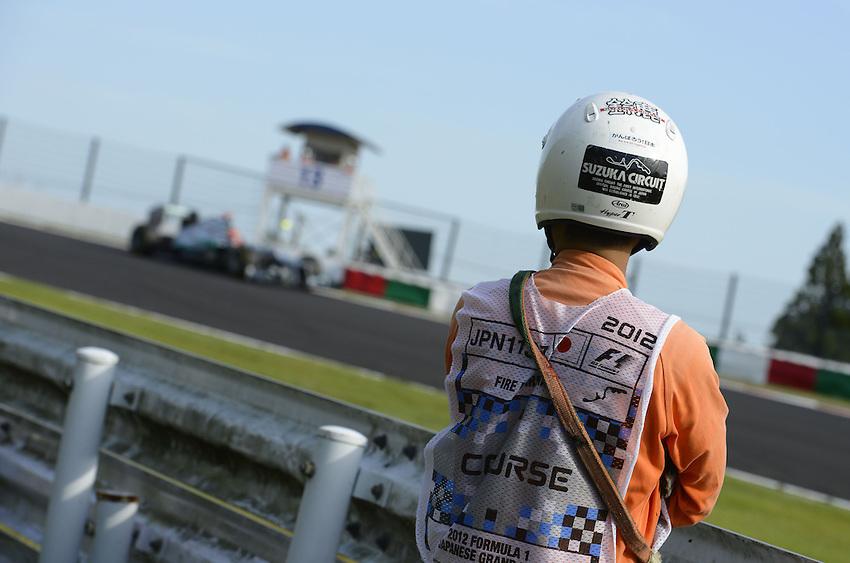 .Japanese Grand Prix Impressions - Michael Schumacher (GER), Mercedes GP ..2012 FIA Formula One World Championship - Japanese Grand Prix - Suzuka Circuit - Suzuka - Japan - Friday 5th October 2012...