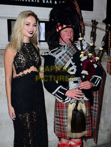 Nina Nesbitt attends the Scottish Fashion Awards 2014, 8 Northumberland Avenue, Northumberland Avenue, on Monday September 01, 2014 in London, England, UK. <br /> CAP/JOR<br /> &copy;Nils Jorgensen/Capital Pictures