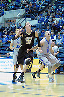 December 12, 2015 - Colorado Springs, Colorado, U.S. -  Army center, Kevin Ferguson #31, reaches for a rebound during an NCAA basketball game between the Army West Point Black Knights and the Air Force Academy Falcons at Clune Arena, U.S. Air Force Academy, Colorado Springs, Colorado.  Army West Point defeats Air Force 90-80.