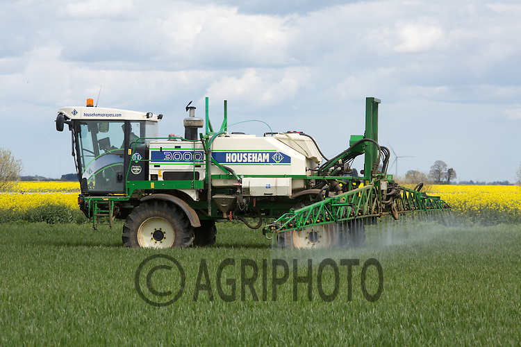 Applying fungicide to Winter Wheat<br /> Picture Tim Scrivener 07850 303986 <br /> scrivphoto@btinternet.com<br /> &hellip;.covering agriculture in the UK&hellip;.