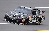 Oct. 30, 2009; Talladega, AL, USA; NASCAR Sprint Cup Series driver Dale Earnhardt Jr during practice for the Amp Energy 500 at the Talladega Superspeedway. Mandatory Credit: Mark J. Rebilas-