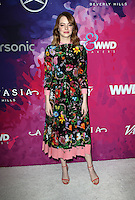 WEST HOLLYWOOD, CA - NOVEMBER 17: Emma Stone at Variety And WWD's 2nd Annual StyleMakers Awards at Quixote Studios West Hollywood on November 17, 2016 in West Hollywood, California. Credit: Faye Sadou/MediaPunch