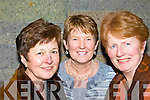 Tarbert ladies at the Phil Coulter Concert in The Church of The Assumption Abbeyfeale on Friday night were Breda O'Connor, Sarah Prendiville and Maureen Healy..