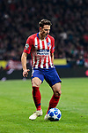 Atletico de Madrid's Santiago Arias during UEFA Champions League match between Atletico de Madrid and AS Monaco at Wanda Metropolitano Stadium in Madrid, Spain. November 28, 2018. (ALTERPHOTOS/A. Perez Meca)