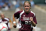 12 September 2009: Texas A&M's Alyssa Mautz. The University of North Carolina Tar Heels defeated the Texas A&M University Aggies 2-0 at Fetzer Field in Chapel Hill, North Carolina in an NCAA Division I Women's college soccer game.