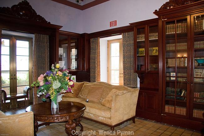 Deering residence: library