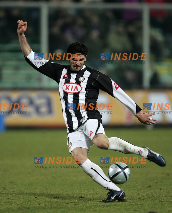 Firenze 26/2/2005 Campionato Italiano Serie A 2004/2005<br /> Fiorentina Udinese 2-2 <br /> Vincenzo Iaquinta Udinese<br /> Foto Andrea Staccioli Insidefoto