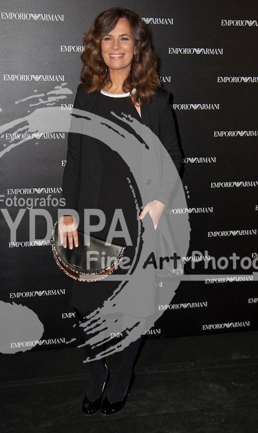 08/04/2013. Madrid. spain. Roberta Armani opens a new Emporio Armani Store in Serrano Street in Madrid.