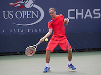 Alexandre Dolgopolov<br /> Tennis - US Open  - Grand Slam -  Flushing Meadows  2013 -  New York - USA - United States of America - Thursday 30th August 2013. <br /> &copy; AMN Images, 8 Cedar Court, Somerset Road, London, SW19 5HU<br /> Tel - +44 7843383012<br /> mfrey@advantagemedianet.com<br /> www.amnimages.photoshelter.com<br /> www.advantagemedianet.com<br /> www.tennishead.net