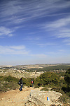 Upper Galilee, Israel National Trail on Mount Meron