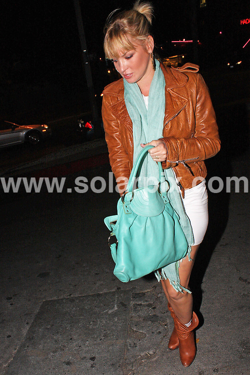 **ALL ROUND PICTURES FROM SOLARPIX.COM**.**WORLDWIDE SYNDICATION RIGHTS**.**NO PUBLICATION IN AUSTRALIA, NEW ZEALAND, DENMARK, GERMANY OR USA**.Ashley Scott, star of Dark Angel, attends post VMA party at Chateau Marmont in Hollywood..JOB REF:  7253    LAP / HD      DATE: 08.09.08.**MUST CREDIT SOLARPIX.COM OR DOUBLE FEE WILL BE CHARGED* *UNDER NO CIRCUMSTANCES IS THIS IMAGE TO BE REPRODUCED FOR ANY ONLINE EDITION WITHOUT PRIOR PERMISSION*