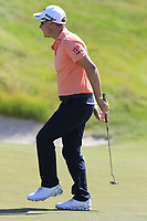 Emiliano Grillo (ARG) putts on the 18th green during Thursday's Round 1 of the 118th U.S. Open Championship 2018, held at Shinnecock Hills Club, Southampton, New Jersey, USA. 14th June 2018.<br /> Picture: Eoin Clarke | Golffile<br /> <br /> <br /> All photos usage must carry mandatory copyright credit (&copy; Golffile | Eoin Clarke)