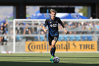 San Jose, CA - Saturday July 29, 2017: Florian Jungwirth during a Major League Soccer (MLS) match between the San Jose Earthquakes and Colorado Rapids at Avaya Stadium.