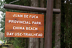 The Juan de Fuca Trail on Vancouver Island, B.C.