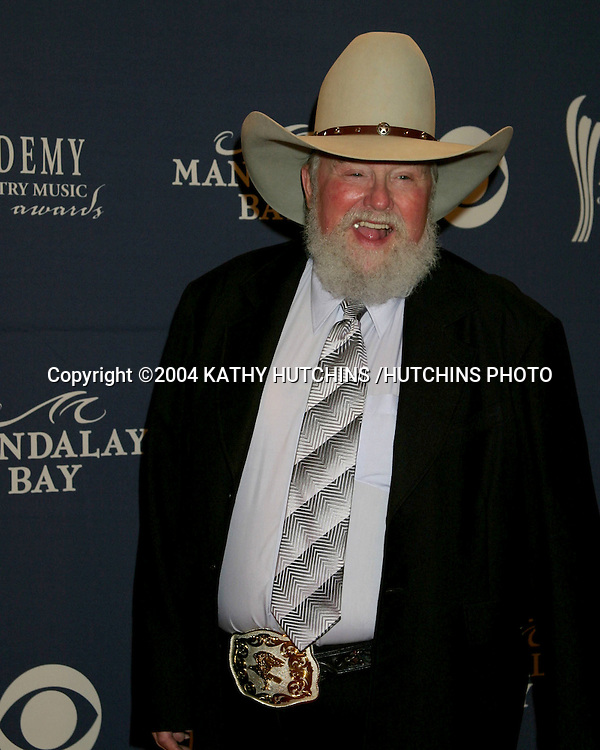 ©2004 KATHY HUTCHINS /HUTCHINS PHOTO.39TH ACADEMY OF COUNTRY MUSIC AWARDS.MAY 26, 2004.LAS VEGAS, CA..CHARLIE DANIELS