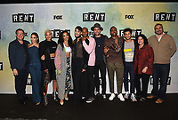 "RENT: JAN 15, 2019: (L-R) Director Michael Greif, Vanessa Hudgens, Kiersey Clemons, Tinashe, Valentina, Brandon Victor Dixon, Brennin Hunt, Mario, Jordan Fisher, Executive Producer Julie Larson, and Executive Producer Adam Siegel attend FOX'S ""RENT"" Sing-Along YouTube Event at the YouTube Space on January 15, 2019, in Los Angeles, California. (Photo by Frank Micelotta/Fox/PictureGroup)"