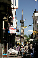 Kasim Padisah Cami or the Four-Legged Minaret Mosque, Diyarbakir, southeastern Turkey
