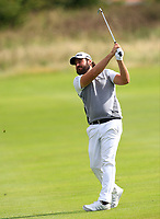 Victor Dubuisson (FRA) on the 4th fairway during Round 4 of Made in Denmark at Himmerland Golf &amp; Spa Resort, Farso, Denmark. 27/08/2017<br /> Picture: Golffile | Thos Caffrey<br /> <br /> All photo usage must carry mandatory copyright credit     (&copy; Golffile | Thos Caffrey)