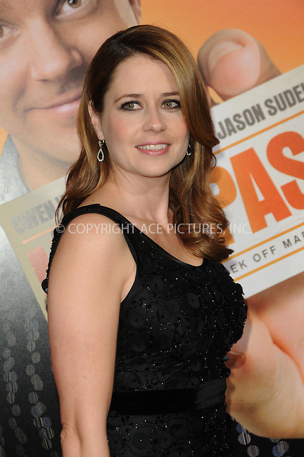 WWW.ACEPIXS.COM . . . . . ....February 23 2011, Los Angeles....Actress Jenna Fischer arriving at the premiere of Warner Brothers' 'Hall Pass' at the Cinerama Dome on February 23, 2011 in Los Angeles, CA....Please byline: PETER WEST - ACEPIXS.COM....Ace Pictures, Inc:  ..(212) 243-8787 or (646) 679 0430..e-mail: picturedesk@acepixs.com..web: http://www.acepixs.com