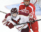 Tim Doyle (BC - 38), Austin Gates (BU - 76) - The Boston College Eagles defeated the visiting Boston University Terriers 6-2 in ACHA play on Sunday, December 4, 2011, at Kelley Rink in Conte Forum in Chestnut Hill, Massachusetts.