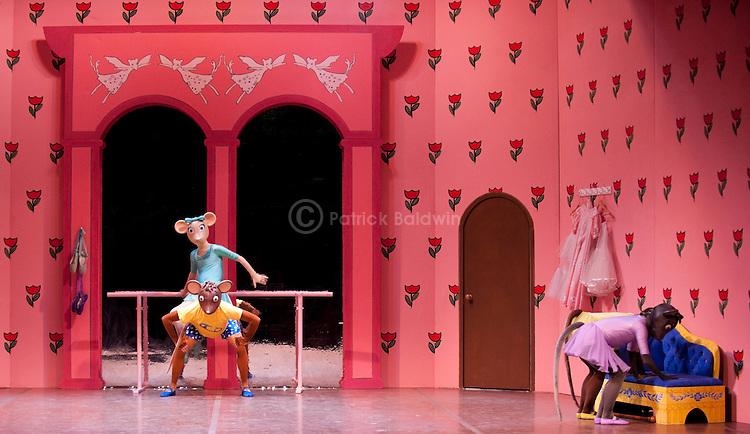 "English National Ballet. Angelina Ballerina. ""Angelina Ballerina's Big Audition"""