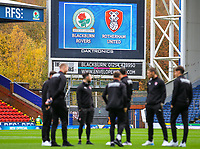 A general view of Ewood Park, home of Blackburn Rovers<br /> <br /> Photographer Alex Dodd/CameraSport<br /> <br /> The EFL Sky Bet Championship - Blackburn Rovers v Rotherham United - Saturday 10th November 2018 - Ewood Park - Blackburn<br /> <br /> World Copyright &copy; 2018 CameraSport. All rights reserved. 43 Linden Ave. Countesthorpe. Leicester. England. LE8 5PG - Tel: +44 (0) 116 277 4147 - admin@camerasport.com - www.camerasport.com
