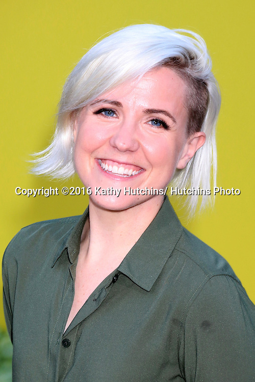 """LOS ANGELES - AUG 9:  Hannah Hart at the """"Sausage Party"""" Premiere at the Village Theater on August 9, 2016 in Westwood, CA"""