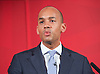 Labour Party Education manifesto launch at Microsoft, London, Great Britain <br /> 9th April 2015 <br /> <br />  General Election Campaign 2015 <br /> <br /> <br /> <br /> <br /> Chuka Umunna<br /> Shadow Business Secretary <br /> <br /> <br /> <br /> <br /> Photograph by Elliott Franks <br /> Image licensed to Elliott Franks Photography Services