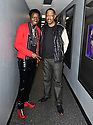 MIAMI, FLORIDA - JANUARY 18: Michael Blackson and Henry Welch backstage at the Miami Festival of Laughs at James L. Knight Center on January 18, 2020 in Miami, Florida.  ( Photo by Johnny Louis / jlnphotography.com )