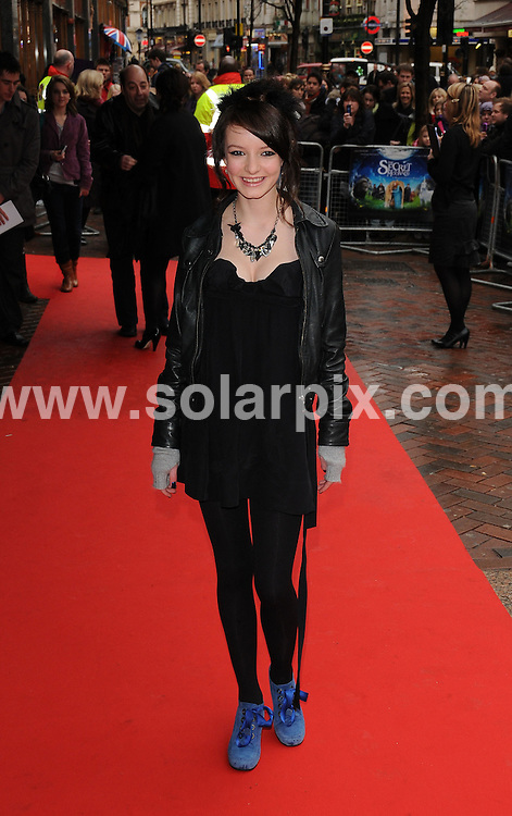 **ALL ROUND PICTURES FROM SOLARPIX.COM**.**WORLDWIDE SYNDICATION RIGHTS**.UK Charity Premiere of The Secret of Moonacre, held at the the Vue Cinema, Leicester Square. London, UK. 25th January 2009...This pic: Dakota Blue Richards..JOB REF: 8316 BTT     DATE: 25_01_2009.**MUST CREDIT SOLARPIX.COM OR DOUBLE FEE WILL BE CHARGED* *UNDER NO CIRCUMSTANCES IS THIS IMAGE TO BE REPRODUCED FOR ANY ONLINE EDITION WITHOUT PRIOR PERMISSION*