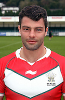 PICTURE BY IAN LOVELL/WRL...Rugby League - Wales Rugby League Headshots 2011 - 21/10/11...Wales Neil Budworth.