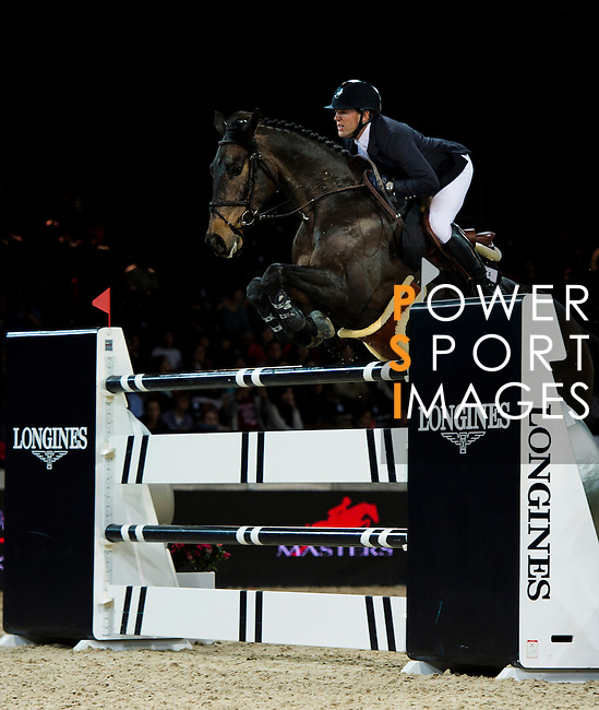 Riders in action during the Longines Hong Kong Masters on 2 March 2013 at the Asia World-Expo in Hong Kong, China. Photo by Manuel Queimadelos / The Power of Sport Images