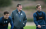 St Johnstone training&hellip;25.08.17<br />Managr Tommy Wright pictured training at McDiarmid Park this morning ahead of tomorrows game at Celtic.<br />Picture by Graeme Hart.<br />Copyright Perthshire Picture Agency<br />Tel: 01738 623350  Mobile: 07990 594431